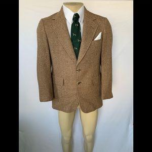 Hart Schaffner & Marx Men's Size 40R Tweed Blazer